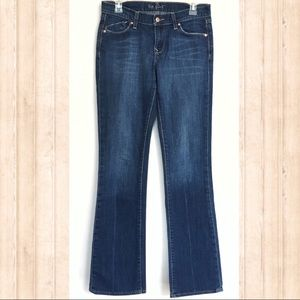 Old Navy The Flirt dark wash bootcut jeans size 4L